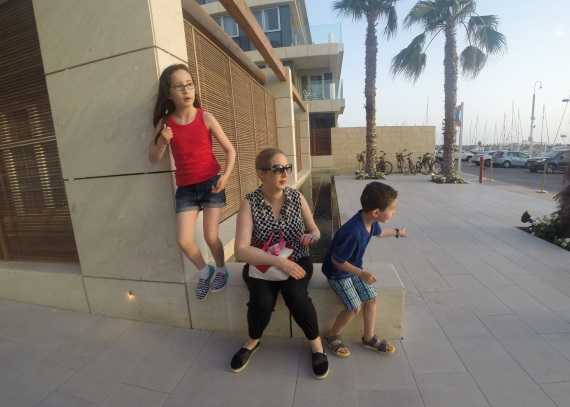 Waiting to go out for dinner - 24th May 2015, Herzliya, Israel